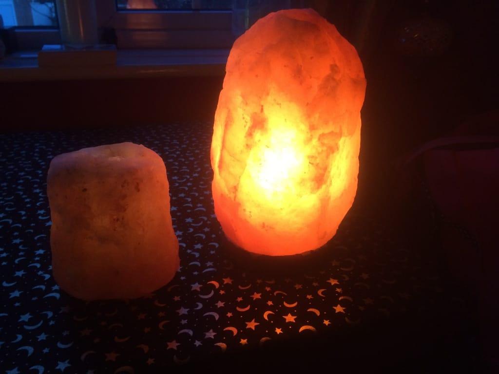 Himalayan Lamp & Candle Holder