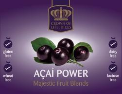 Acai Berry Juice Label