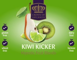 Kiwi Kicker Label
