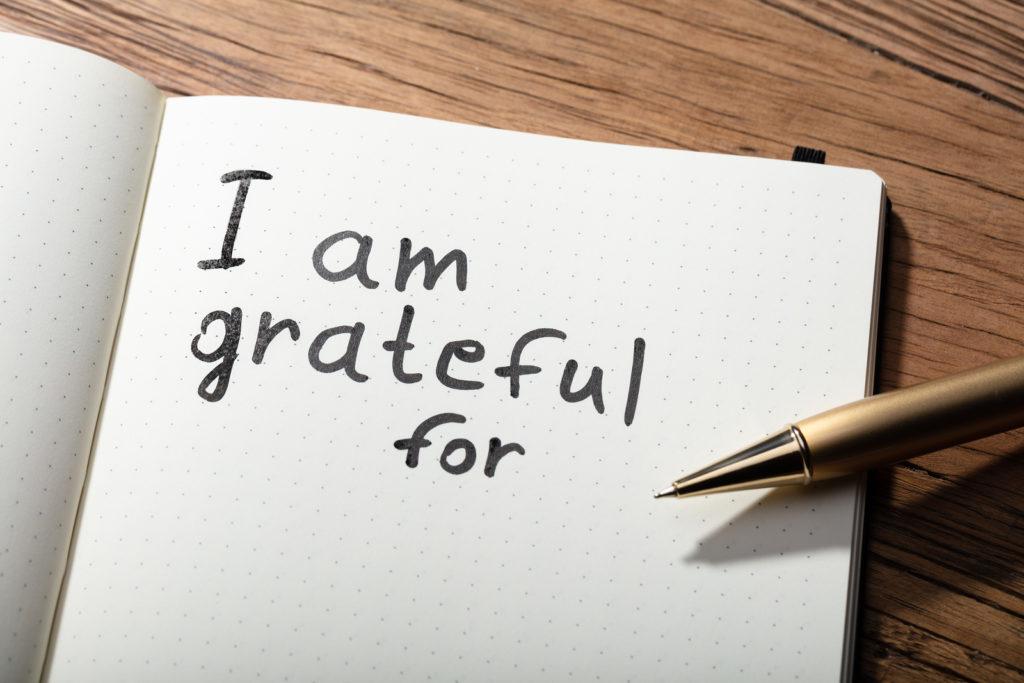 I am grateful for