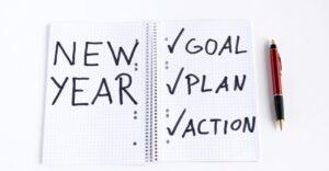 New Year Resolution Goals